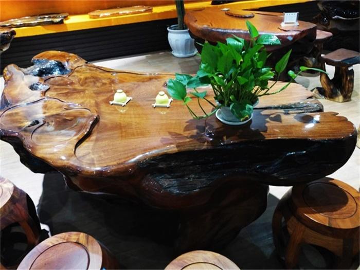 老挝花梨根台