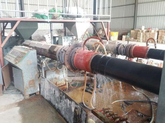 大同市中云热力蒸汽钢套钢蒸汽保温管输送工程