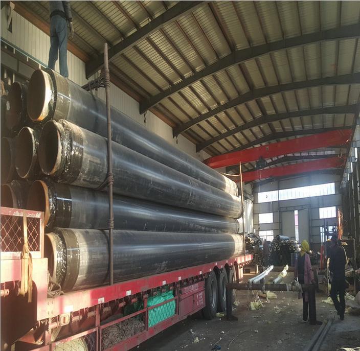 内蒙古万胜化工集团石油化工高温蒸汽保温管道改造工程