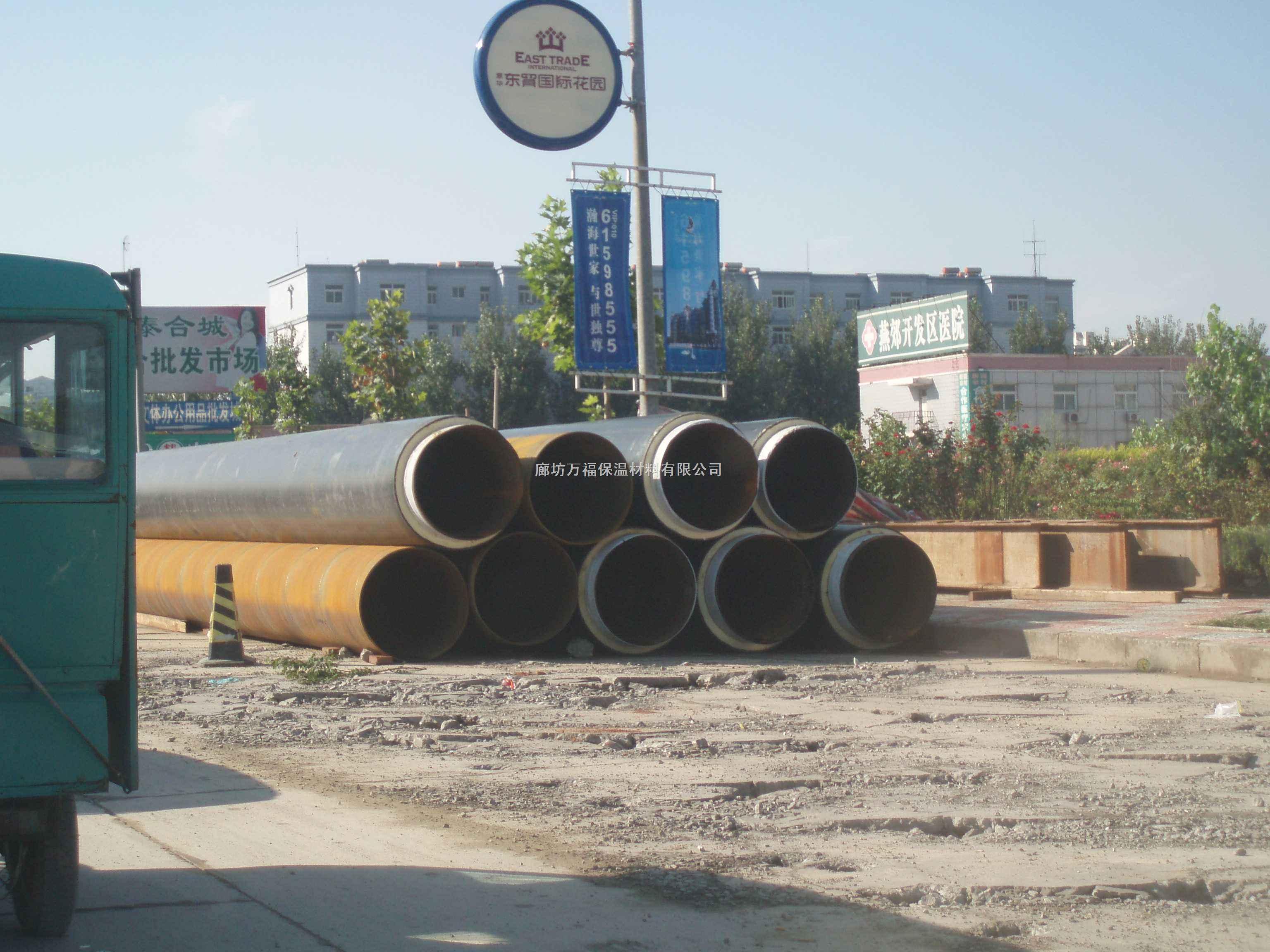 北京沙河大学城热网工程