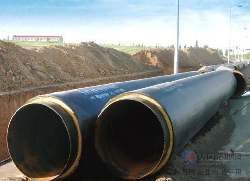 热力公司地热温泉水供暖管道案例