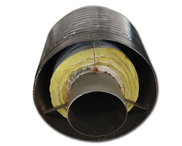 国标钢套钢直埋保温管