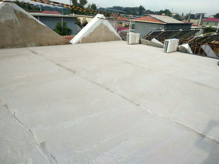 北京平谷小区屋顶保温防水改造1