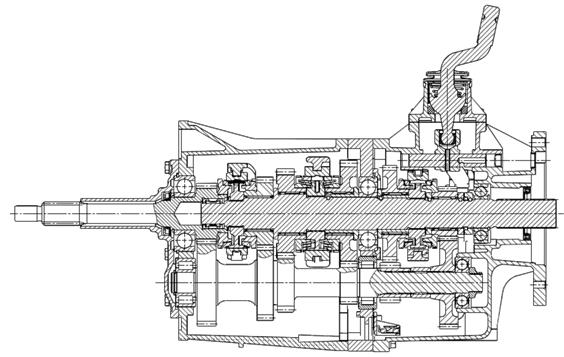5F84系列变速器
