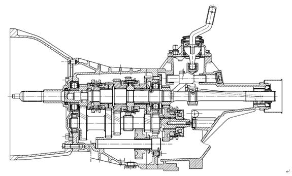 7H系列變速器