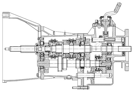 7W系列變速器
