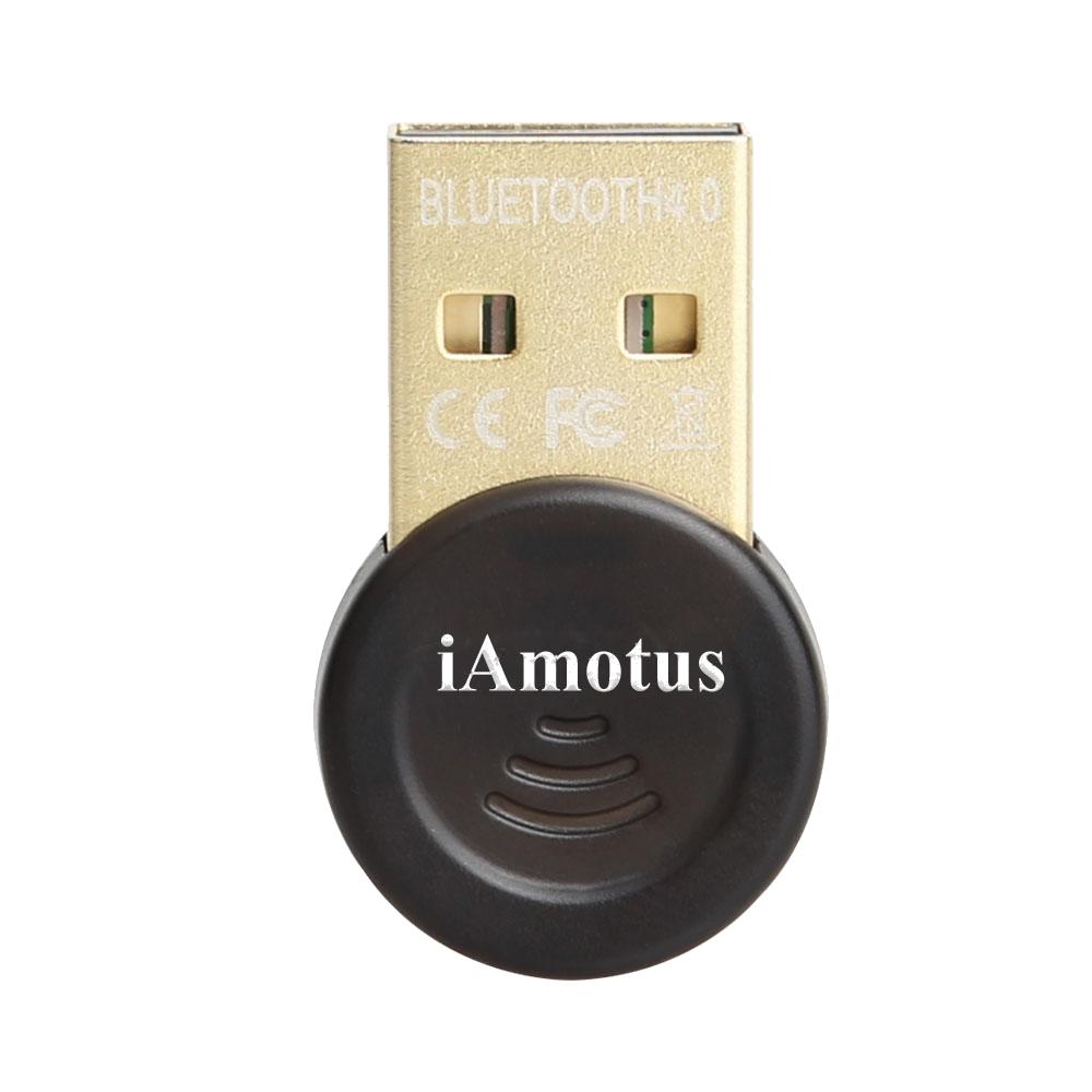 iAmotus Bluetooth 4.0 USB adapter EDR / LE CSR Bluetooth dongle Windows 10 apt-X Compatible