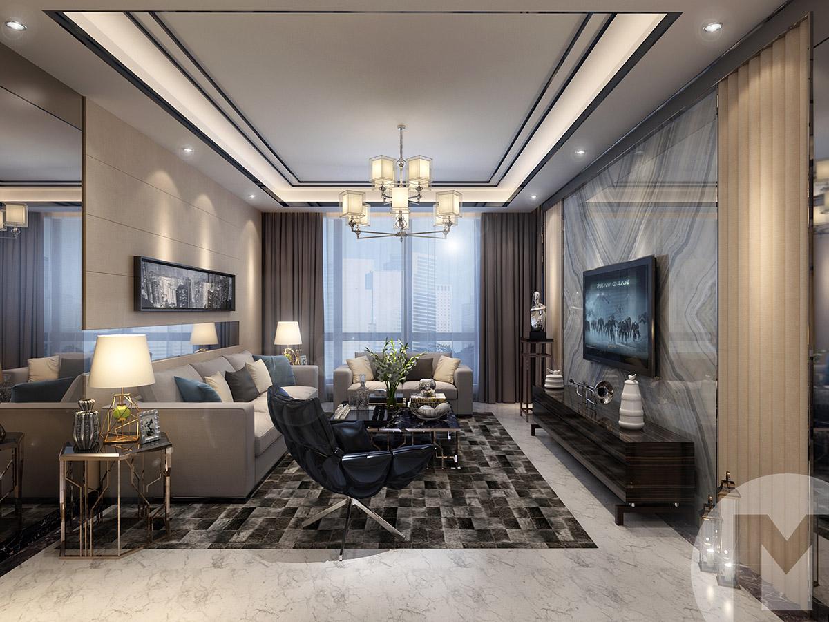 客厅设计原油投资最少多少资金图纸