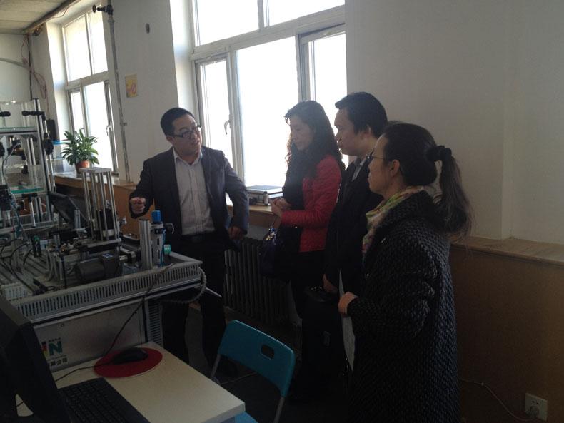机电一体化协会黎晓东秘书长一行到北京培训中心参观并指导工作