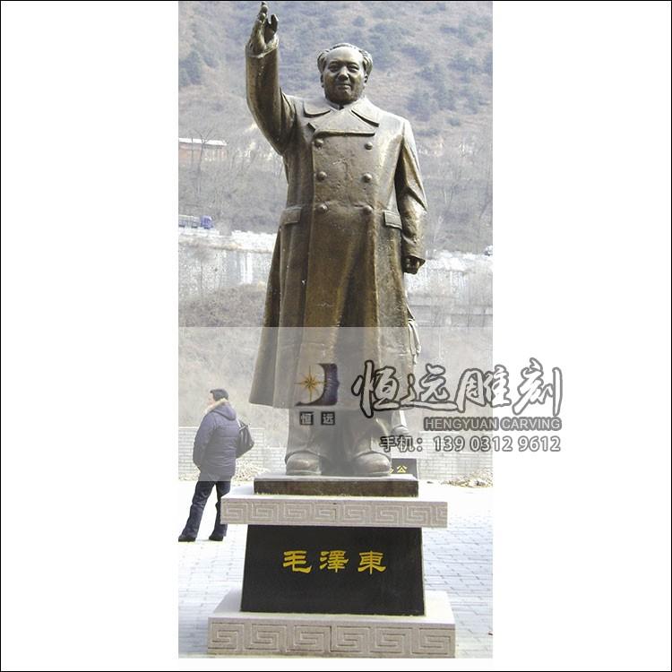 铜雕人物-毛泽东-HYTD-2001