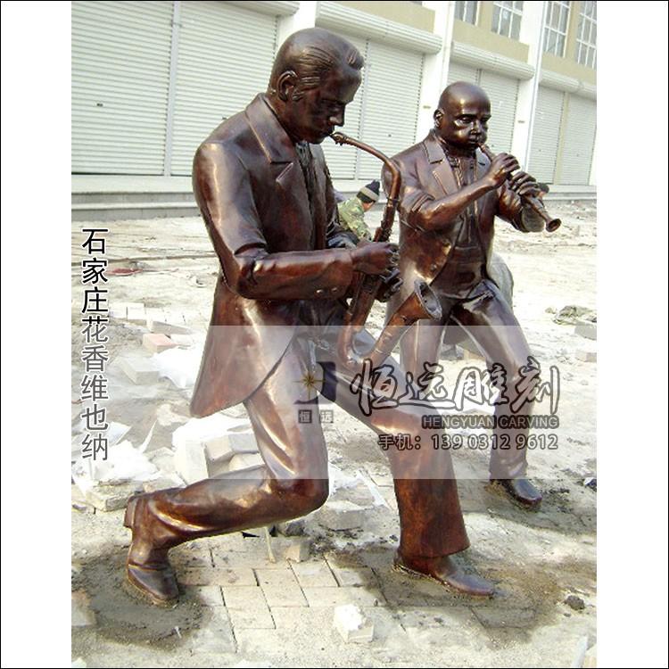 铜雕-现代人物-3001