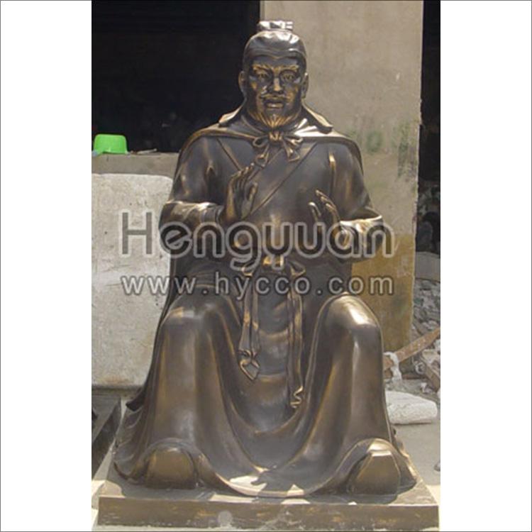 仿铜雕塑-传统人物-HYFT-1006