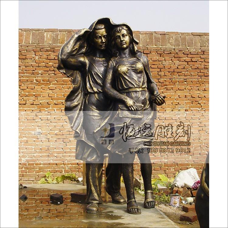 仿铜雕塑-铜雕儿童-HYFT-1005