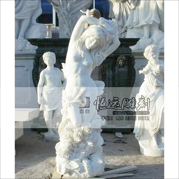 西方人物-曲阳石雕-HYSD-1001