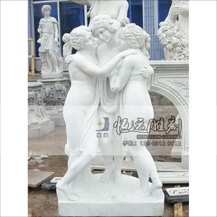 西方人物-曲阳石雕-HYSD-1003