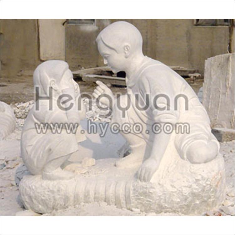 东方人物-曲阳石雕-DFR-2003