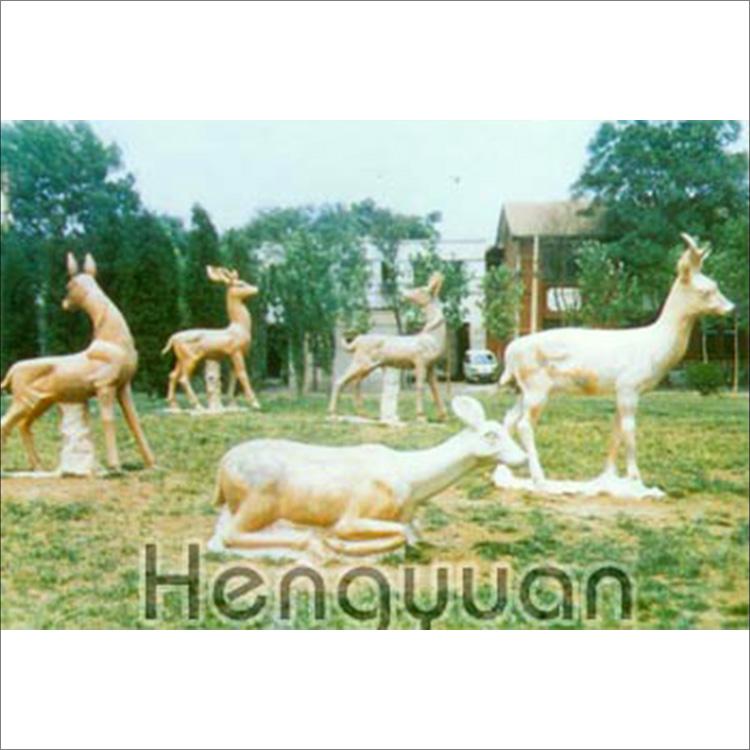 鹿-动物雕刻-DW-1006