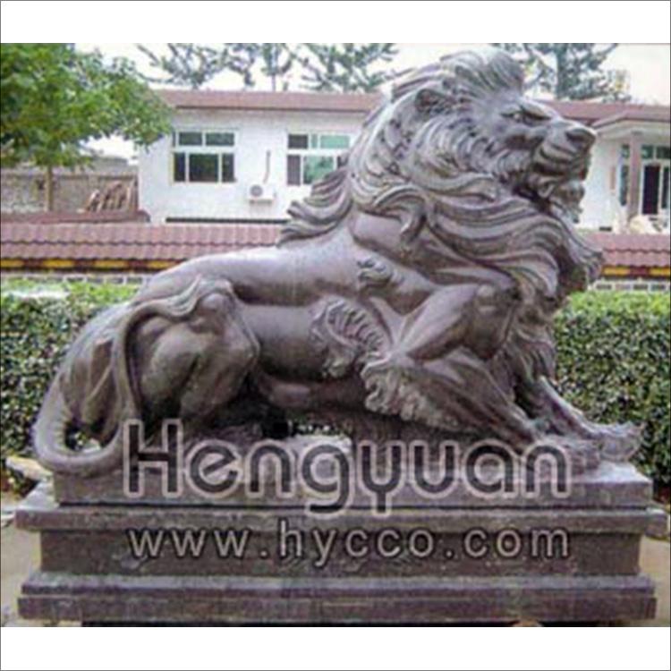 石狮子-动物雕刻-DW-1002