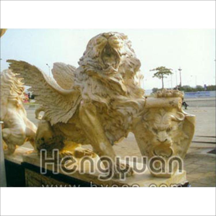 石狮子-动物雕刻-DW-1003