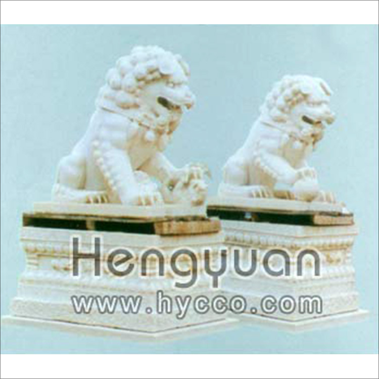 石狮子-动物雕刻-DW-1004