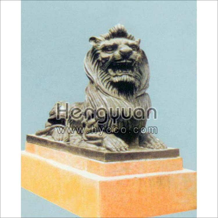 石狮子-动物雕刻-DW-1005