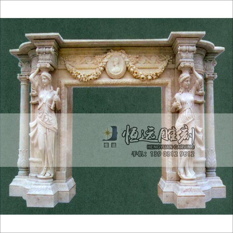 石雕壁炉-BL-1001