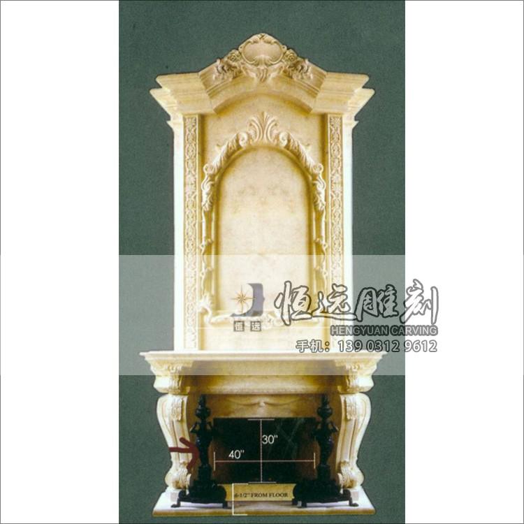 石雕壁炉-BL-1003