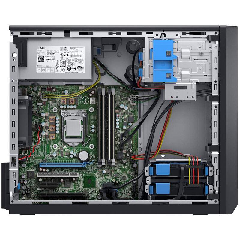 戴尔(DELL) PowerEdge T30塔式服务器主机 T20升级款 奔腾双核 G4400 处理器 4G内存+1T硬盘+DVDRW