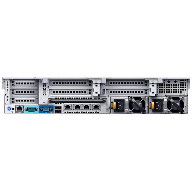 戴尔 DELL R730 2U机架式服务器(E5-2620V4*2/16G*4/4T SAS*3热/H730-1G缓存/DVDRW/750W双电/导轨)三年