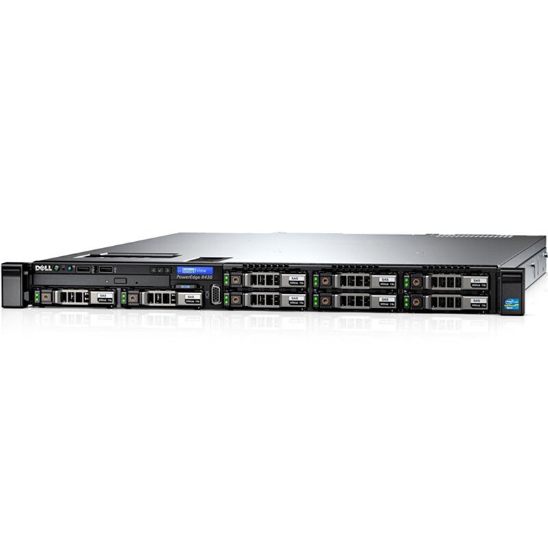 戴尔 DELL R430 1U机架式服务器(E5-2609V4/8G/1T SAS*2热/H330 RAID卡/DVDRW/450W冷电单电/)三年上门