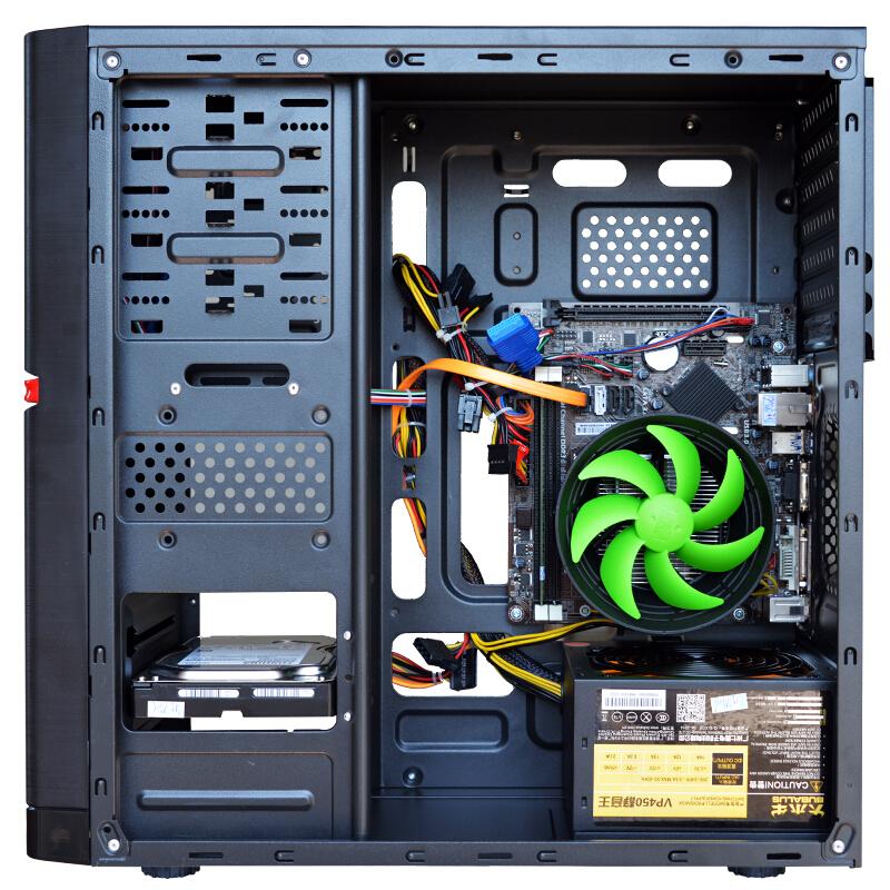 立伟世纪 G3930/C.B150M/七彩虹主板 办公电脑主机/DIY组装机台式主机