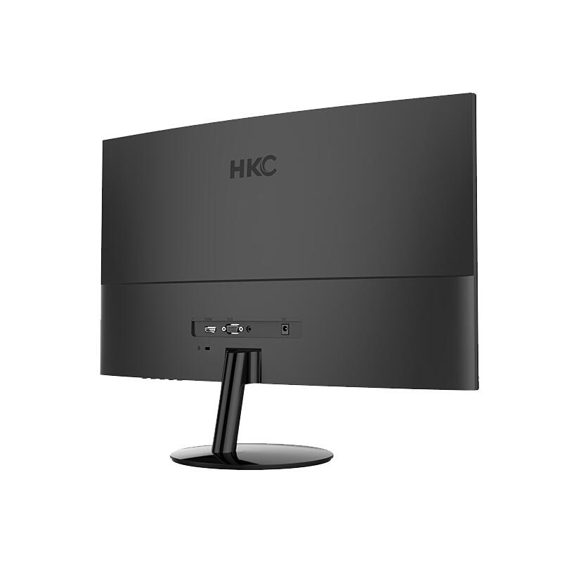 立伟世纪 HKC/惠科 C240 23.6英寸窄边背光广视角不闪屏 VA曲面游戏家用显示器