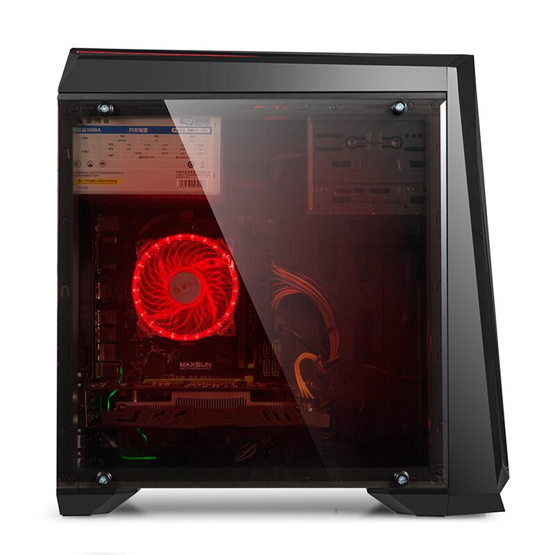 立伟世纪  酷睿办公游戏台式组装电脑主机/DIY组装机 Q 8200 /8G内存/120G固态