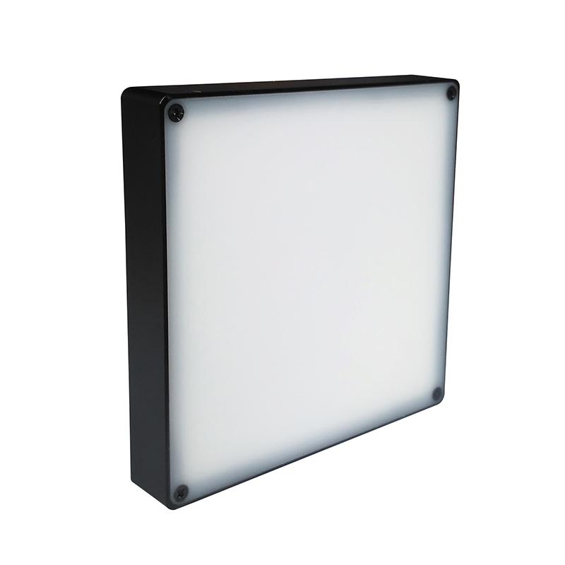 视觉光源方形防水90x90mm
