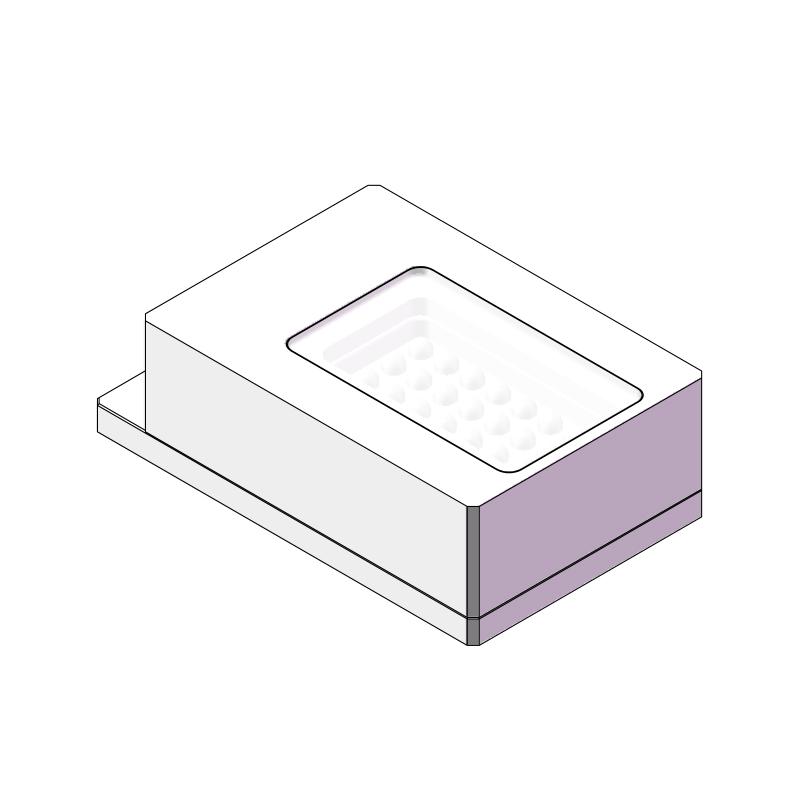 方形平行背光源发光面尺寸37x17.5mm