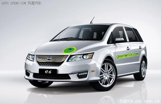 比亞迪e6出租車將進入倫敦 于明年交付