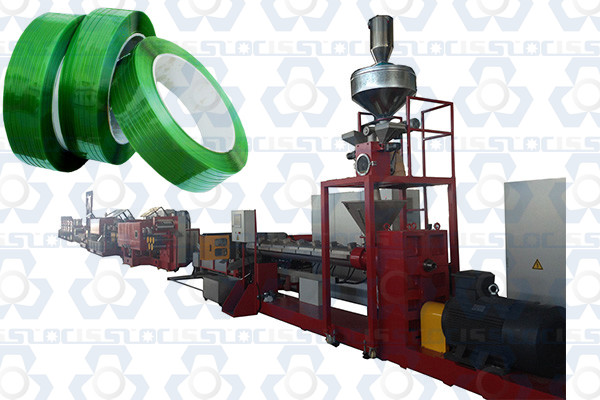 PET Polyester Strapping Band Production Line