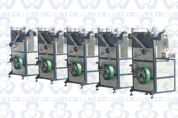 Single Position PP PET Strapping Band Winder Machine
