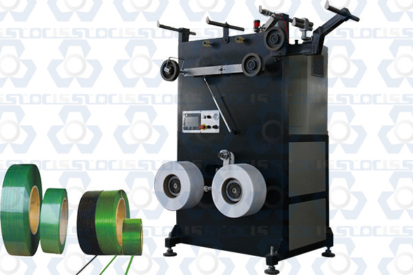 Double Positions PP PET Strapping Band Winder Machine