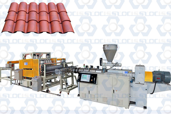 PVC Roofing Glazed Tile Production Line