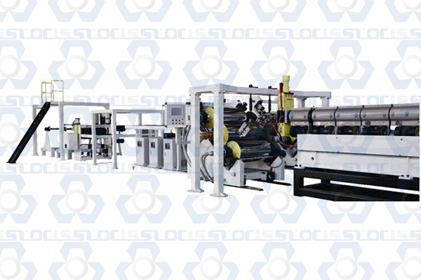 PET Solid Sheet Extrusion Machine