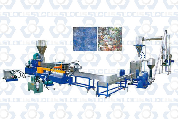 PET Bottle Flakes Pelletizing Machine