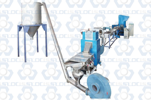 PP, PE Flakes and Film Pelletizing Machine