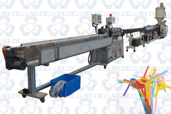 PE PP Straw Making Machine
