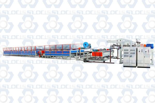 Single Color PVC Coil Mat Production Line