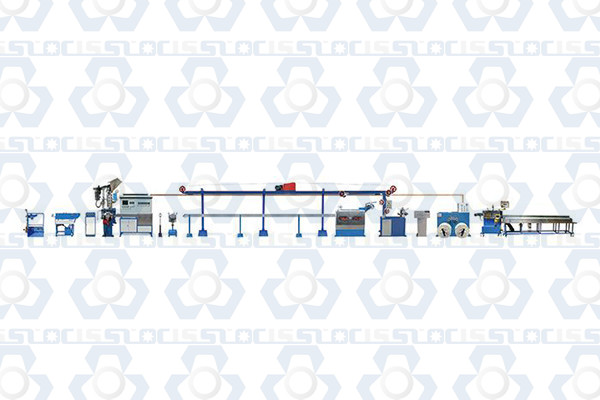 High Speed Chemical Foaming Cable Wire Production Line