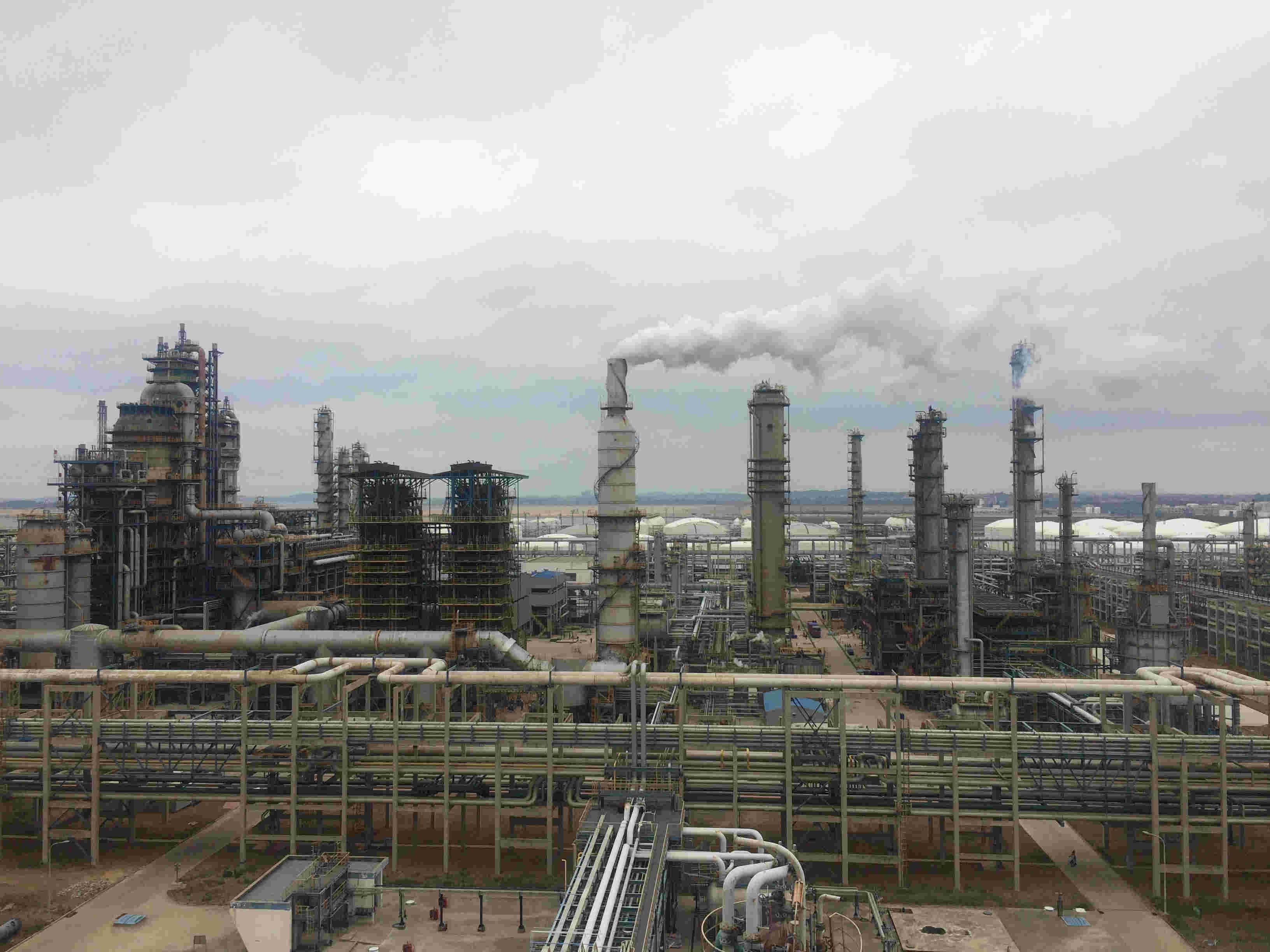 中化泉州石化1200万吨炼油项目