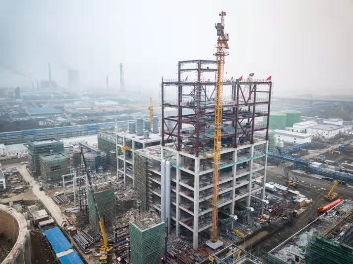 镇海炼化有限公司扩建1500万吨年炼油