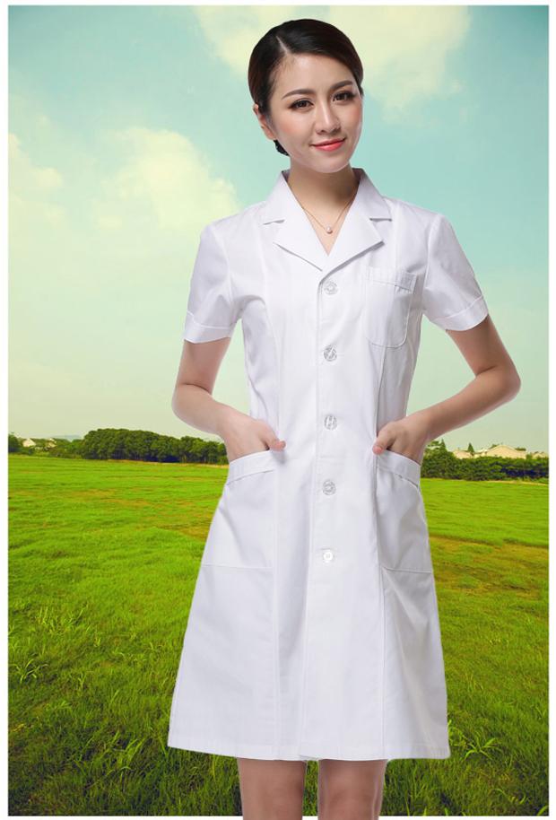 厂家直销新款医生护士服 药店美容实验服夏冬装