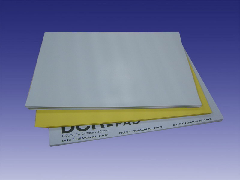 Dust sticky paper